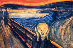 The Scream - Edvard Munch (1893)